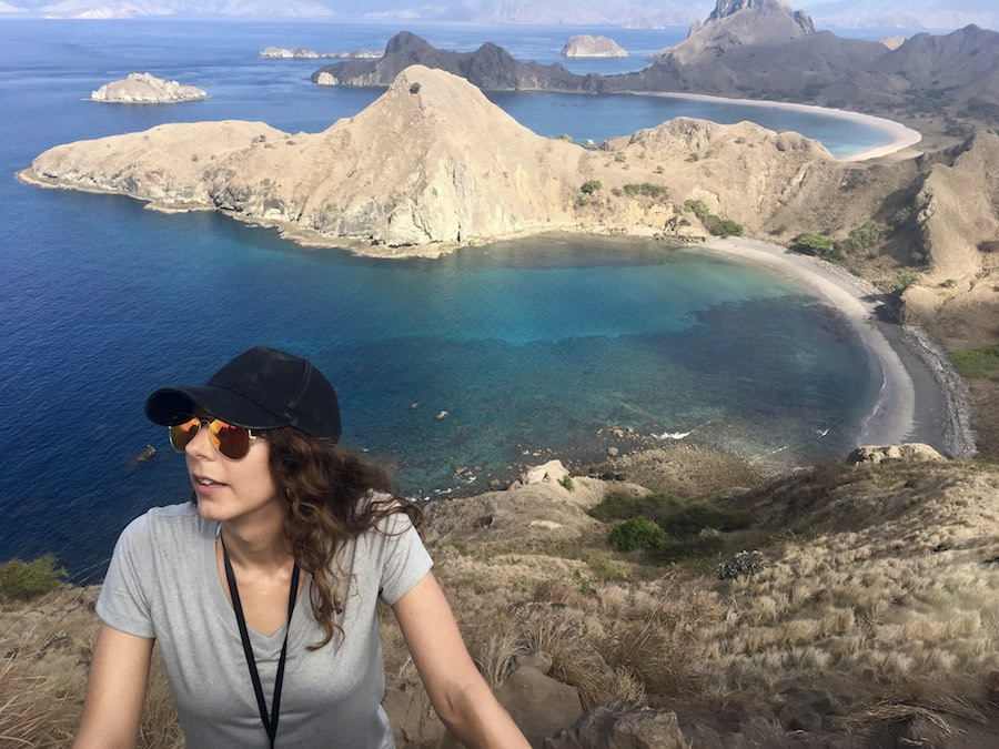 Komodo Padar Island Three Beach Hike View