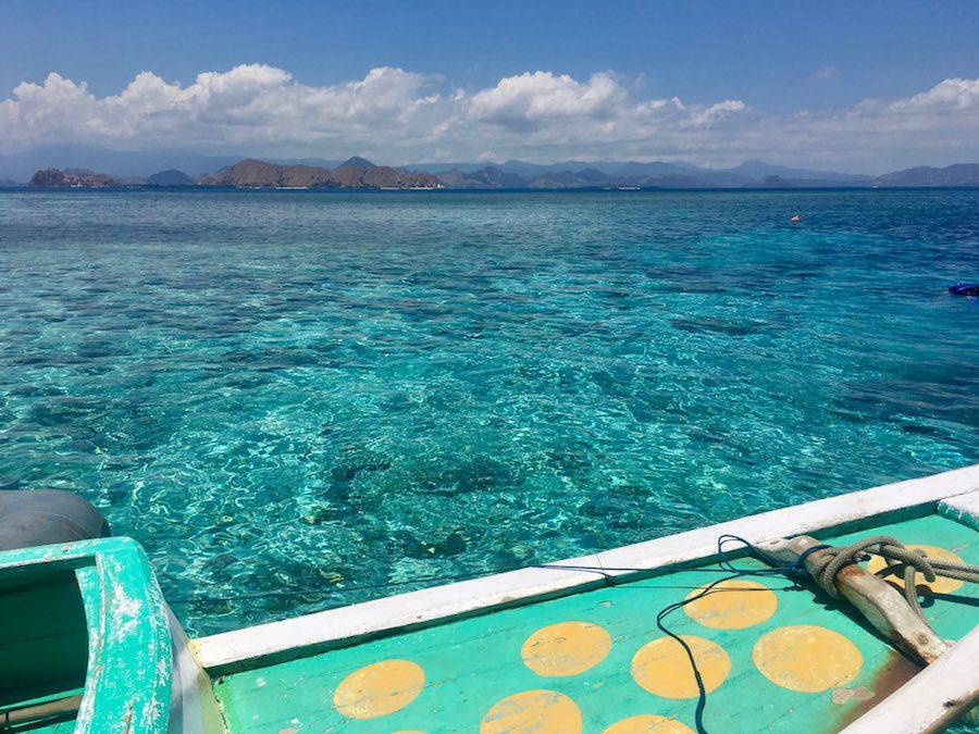 Komodo snorkeling Clear Turquoise sea