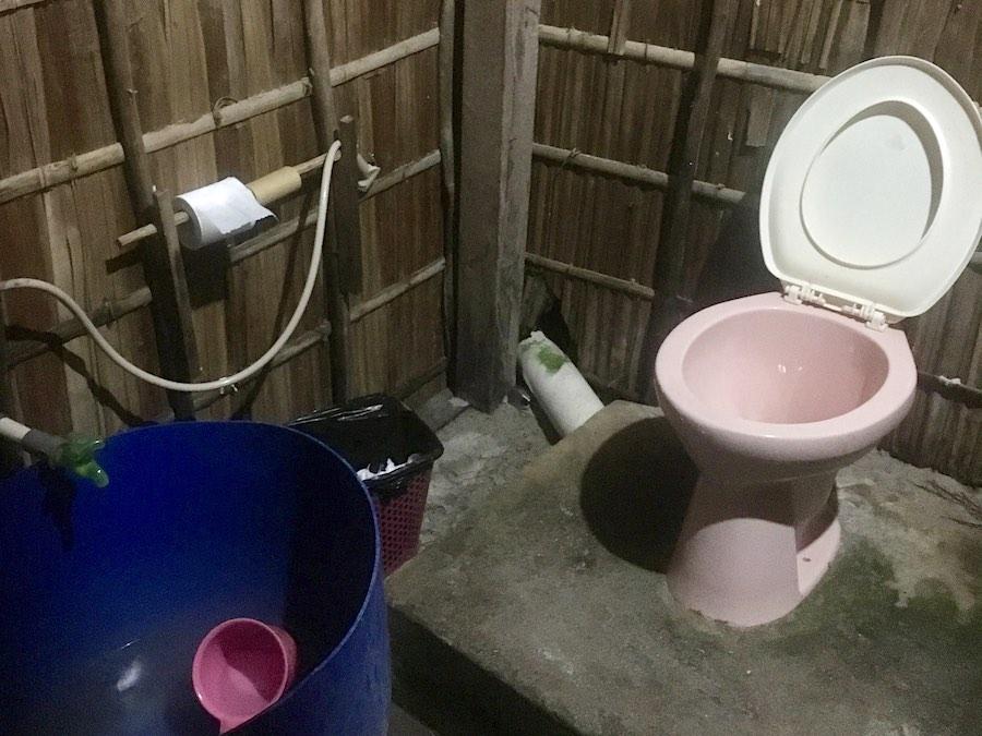 Raja Ampat homestay facilities bathroom toilet