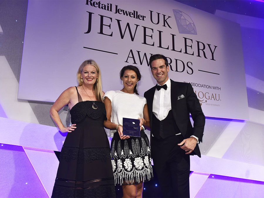 Shaun Leane Fine Jewellery Brand of the Year 2016 UK Awards ceremony Claire Ullah Head of Sales