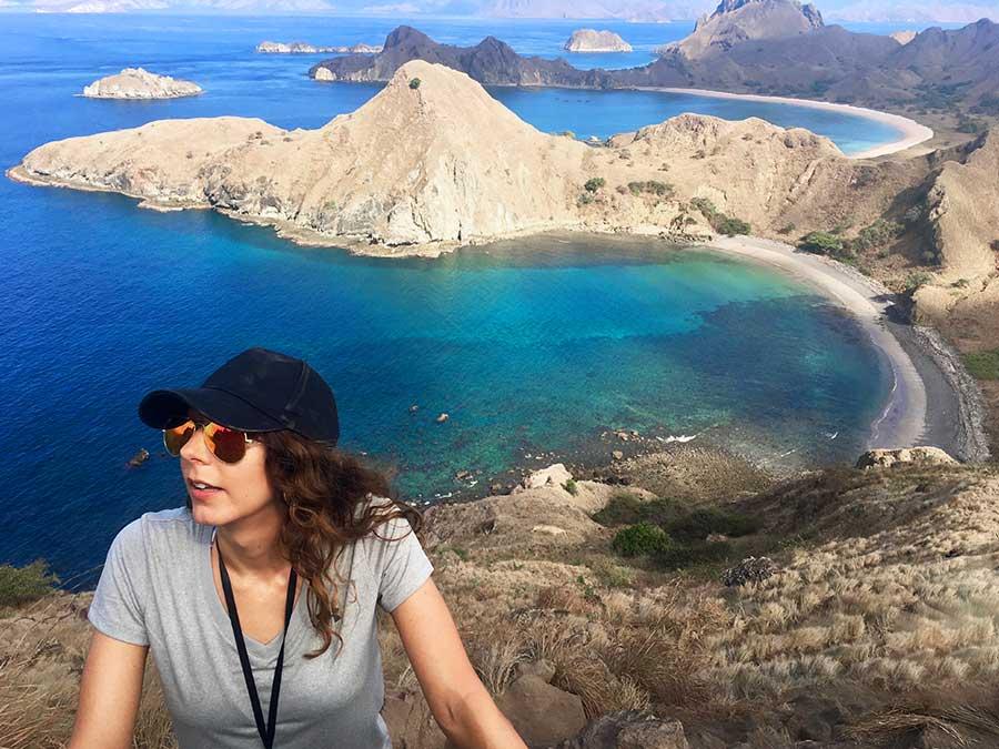 Komodo padar island hike