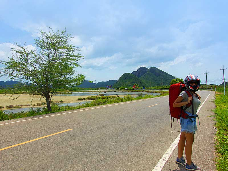 Backpacking toiletries on the road
