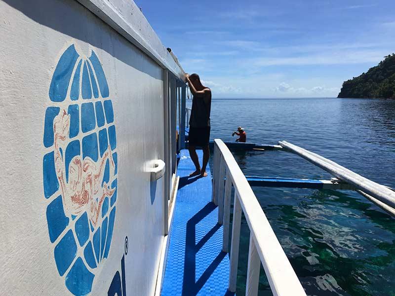 PADI dive boat Padre Burgos