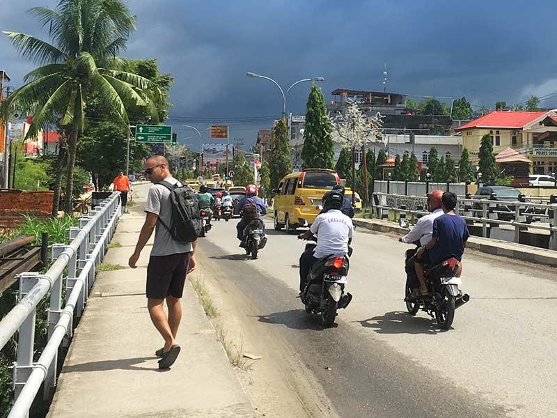 Sorong Transport Roads