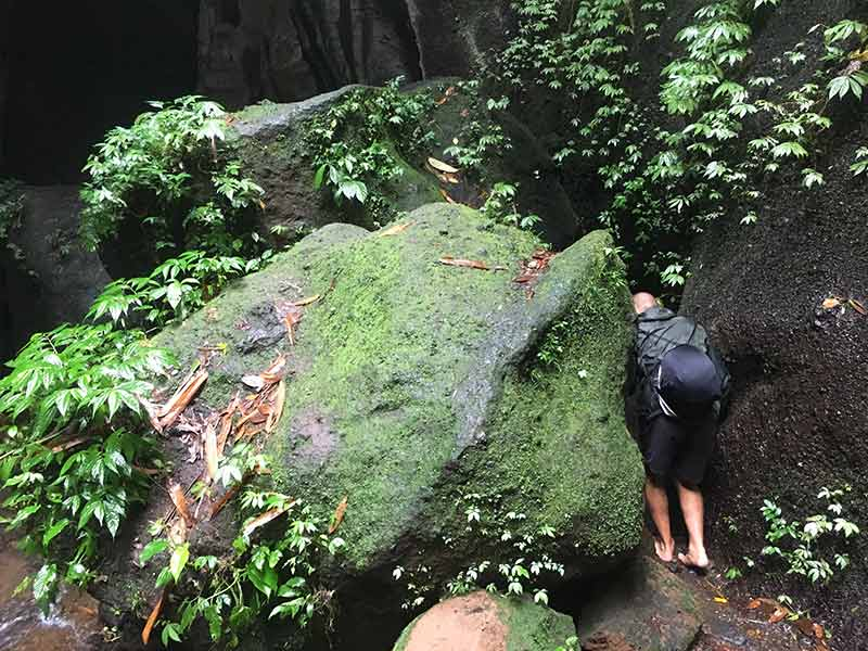 Waterfall jungle trekking Bali