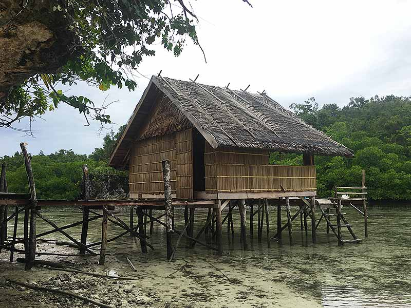 Traditional Raja Ampat Bungalow