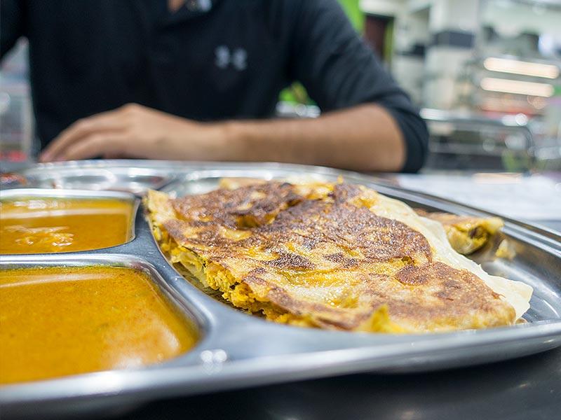 Roti Canai E & Y restaurant Johor Bahru